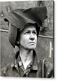 Wwii Rosie The Riveter Acrylic Print