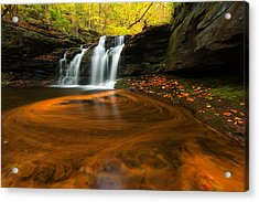 Wyandot Falls Acrylic Print