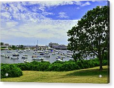 Wychmere Harbor Acrylic Print by Allen Beatty