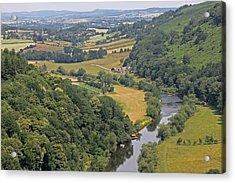 Wye Valley Acrylic Print