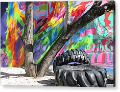 Wynwood Walls Acrylic Print by Rosie Brown