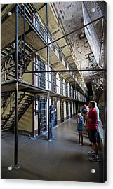 Wyoming Frontier Prison Acrylic Print by Jim West