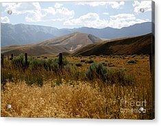 Wyoming Scenery Acrylic Print by Sophie Vigneault