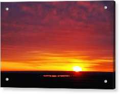 Wyoming Sunrise Acrylic Print