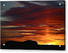 Wyoming Sunset #1 Acrylic Print by Eric Nielsen