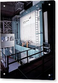 X-10 Graphite Reactor Acrylic Print by Us Department Of Energy