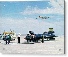 X-15 Aircraft After Landing Acrylic Print
