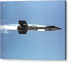 X-15 Aircraft After Launch Acrylic Print