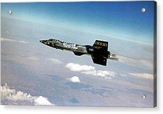 X-15 Aircraft In Flight Acrylic Print