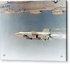 X-15 Launch From A Boeing B-52 Acrylic Print