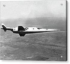 X-3 Stiletto Experimental Aircraft Acrylic Print