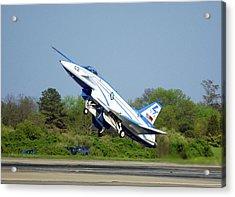 X-31 Vector Experimental Aircraft Acrylic Print
