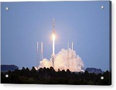 X-37b Orbital Test Vehicle Lifts Off Acrylic Print