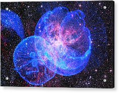 X-factor In Universe. Strangers In The Night Acrylic Print
