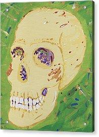 X-ray Jones Acrylic Print by Yshua The Painter