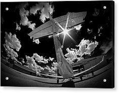 X Ray Plane Acrylic Print by Paul Job