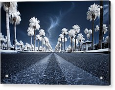 Acrylic Print featuring the photograph X by Sean Foster