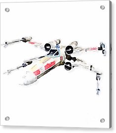 X-wing Acrylic Print