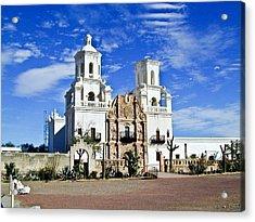 Xavier Tucson Arizona Acrylic Print by Douglas Barnett