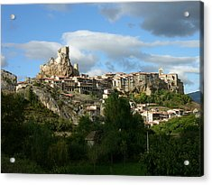 Xii Century Rural Town Acrylic Print