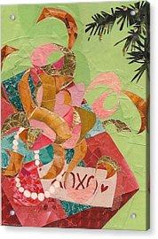 Xoxo Acrylic Print by Robin Birrell