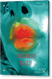 Xxooxxo Kisses And Special Surprise For Patrons Acrylic Print