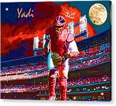 Yadi Acrylic Print by John Freidenberg