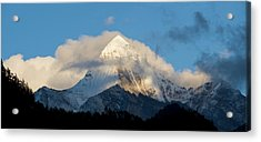 Yading Nature Preserve, Yangmaiyong Acrylic Print by Howie Garber