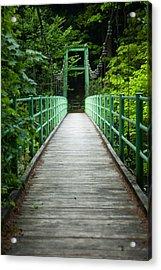 Yagen Forest Bridge Acrylic Print
