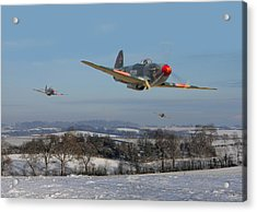 Yak9 - The Russians Are Coming Acrylic Print by Pat Speirs