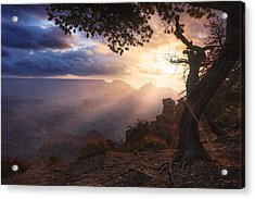 Yaki Point Acrylic Print by Michael Breitung