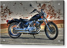 Yamaha Virago 01 Acrylic Print by Andy Lawless