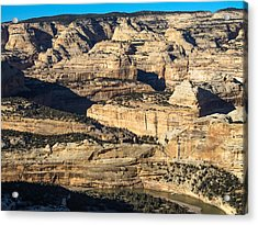 Yampa River Canyon In Dinosaur National Monument Acrylic Print