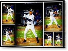 Yankee Captain Derek Jeter Acrylic Print