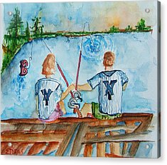 Yankee Fans Day Off Acrylic Print