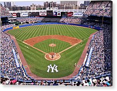 Yankee Stadium Acrylic Print by Allen Beatty