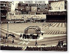 Yankee Stadium Acrylic Print by CD Kirven