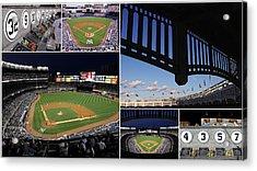 Yankee Stadium Collage Acrylic Print