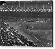 Yankee Stadium Game Acrylic Print