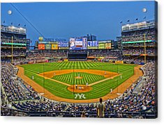 Yankee Stadium Acrylic Print by Jeffrey Friedkin