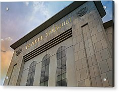Yankee Stadium Acrylic Print by Stephen Stookey