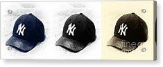 Yankees Acrylic Print by John Rizzuto