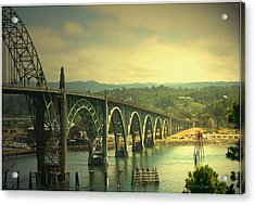 Yaquina Bay Bridge Or Acrylic Print