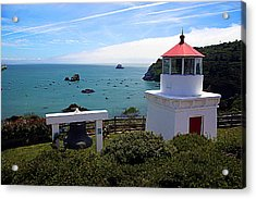 Yaquina Bay Lighthouse Acrylic Print