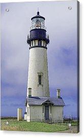 Yaquina Head Lighthouse Acrylic Print by Dennis Bucklin