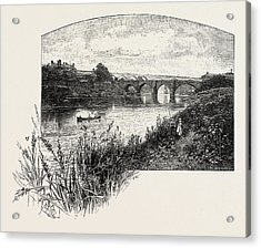 Yarm Is A Small Town And Civil Parish In The Unitary Acrylic Print by English School