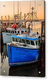 Yarmouth Harbour Acrylic Print