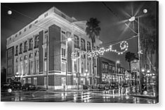 Ybor City Italian Club Acrylic Print by Ybor Photography
