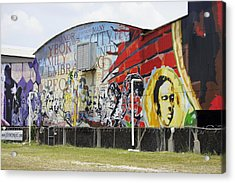 Ybor Mural Acrylic Print by Laurie Perry