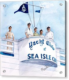 Ycsic Race Committee 2 Acrylic Print by Nancy Patterson